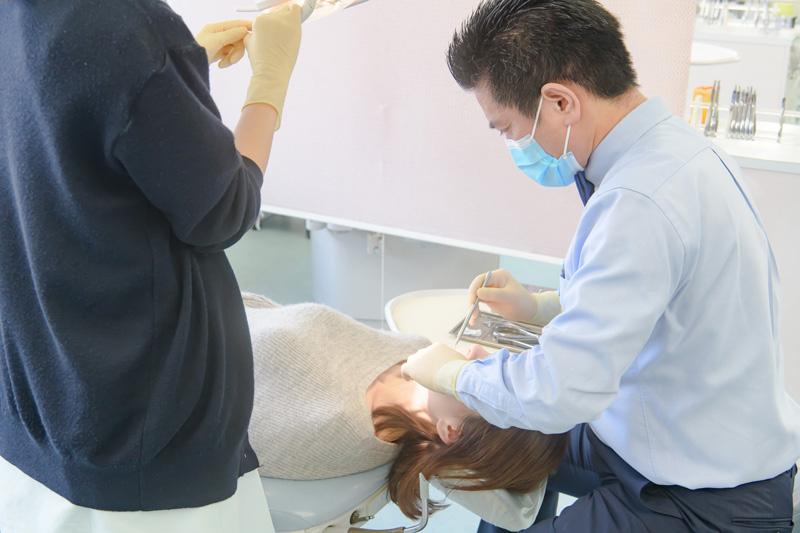 顎変性症の治療の流れ